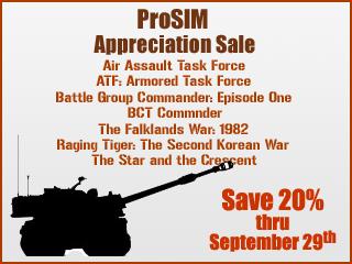 ProSIM Appreciation Sale