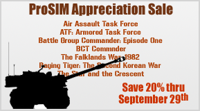 ProSIM Appreciation Sale