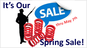 It's Our Spring Sale!